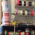 Ribbon CD rack
