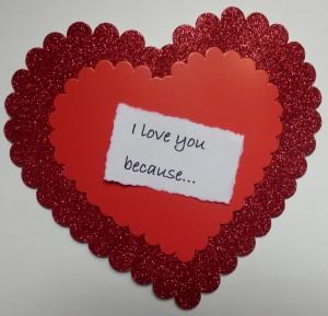 Gltter heart