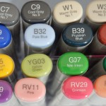 Copic marker numbers
